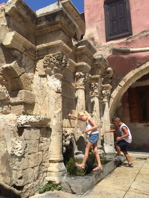 La fontaine Rimondi Rethymnon Crète