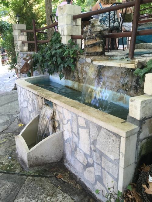 Argyroupoli fontaine