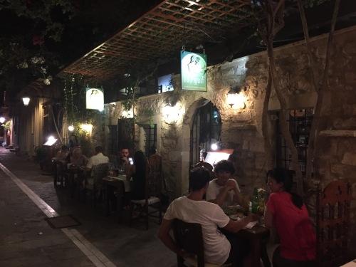 Restaurant Pigadi Rethymnon Crète
