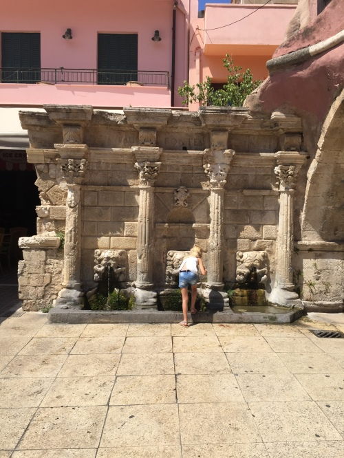 Fontaine Rimondi Rethymnon Crète