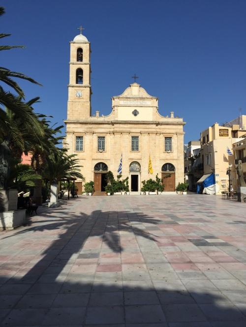 Cathédrale Chania Crète