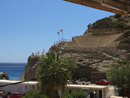 Amphithéâtre. Agia Gallini Crète