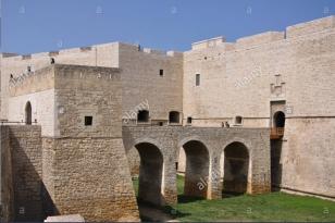 castello svevo. alamy.com