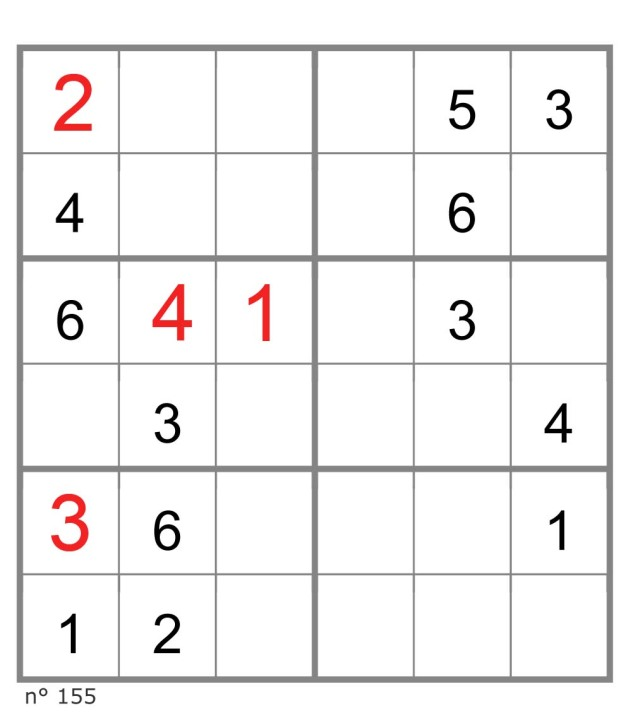 jouer au sudoku 6x6